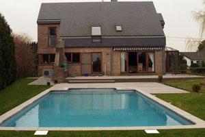 Construction de votre piscine piscine en b ton la for Construction piscine tva 5 5